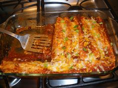 And the Dish Ran Away With the Spoon: Enchilada Sauce!