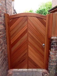 herringbone pedestrian gate - Google Search