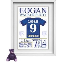 Gillingham Personalised Childrens Nursery Picture