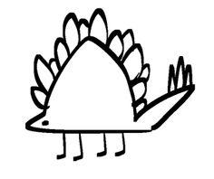 Stegosaurus  I eat plants  Watch me sing  And watch me dance