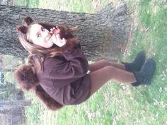 LOL !!!!   Homemade squirrel costume