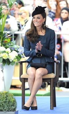 Kate Middleton - The Queen's Diamond Jubilee Tour Begins