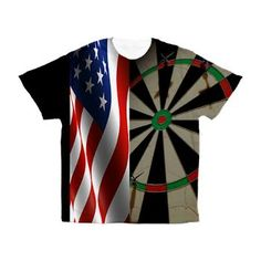 American Pride All Over Print Darts Shirt from $64.99. Customization available!