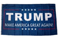 Donald Trump For President 2016 - Make America Great Again 3 x 5 Foot Flag.You can Hang this Make America Great Again flag on your Pole, Door, Wall, Hood of your car or anywhere else you can think of hanging a Make America Great Again flag. This flag is made of lightweight, weather-resistant nylon and features metal grommets that will fit any flagpole. This flag will look great flying proudly in the wind outside, hanging on the wall in your room, or even on the hood of your car. Get yours…