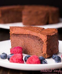 5 Ingredient Mud Cake