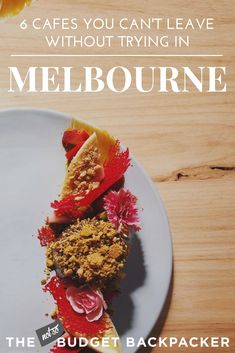 From brioche french toast, to super healthy brekki bowls and naughty injectable donuts, here are the 6 best Melbourne coffee shops. Melbourne Coffee, Melbourne Travel, Melbourne Food, Gourmet Recipes, New Recipes, Best Coffee Shop, Coffee Shops, Tasmania Travel, Captain James Cook