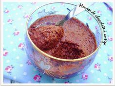 """Ponto de Rebuçado Receitas: Mousse de chocolate """"à antiga"""""""