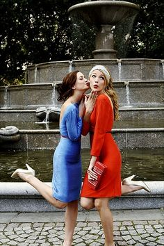 favorite GG episode: the BFF photoshoot. reminds me of my best friends <3