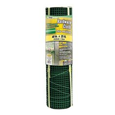 YARDGARD 308260B 12 Inch Mesh 48 Inch by 25 Foot 19 Gauge Green PVC Coated Hardware Cloth -- For more information, visit image link. This is Amazon affiliate link. #Gardening