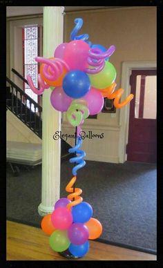 Globos decoraciones cumpleaños