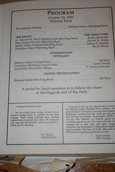Rittman Band Review Program 10/24/92 - Page 2
