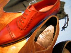 "Alfred Sargent Hand Grade 'Exclusive' Collection Shoes, Handmade in Northampton, England  ""If you want to know the measure of a man look at the shoes he wears"" -Aristotle Onassis  http://www.robertold.co.uk/products/alfred-sargent-shoes-118/"