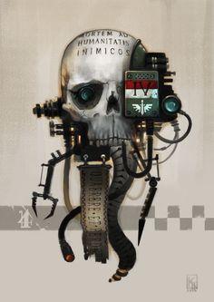Warhammer 40000,warhammer40000, warhammer40k, warhammer 40k, ваха, сорокотысячник,фэндомы,Wh Other,servo skull,Imperium,Империум