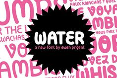 Water by La Boite Graphique on @creativemarket