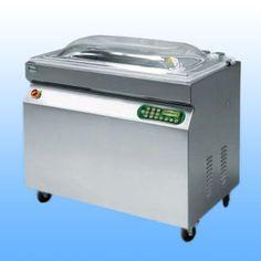 Samostojeće vakumirke s komorom  EPA 1000 SL -dimenzije: 1040x590x1050 -dimenzije komore: 1020x420x200 -širina varilice: 1000 mm -vakum pumpa: Q= 60 m3/h -težina: 160 kg -napajanje: 380 V/50 Hz  -materijal: inox