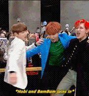 Jungkook, J-Hope and BamBam ❤ #BTS #방탄소년단    #GOTBANGTAN