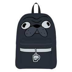 Pewdiepie Edgar Backpack (3690 DZD) ❤ liked on Polyvore featuring bags, backpacks, accessories, black, backpacks bags, black backpack, knapsack bags, black rucksack and rucksack bag