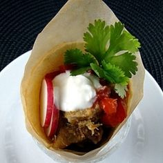 Diana Kennedy's Pork Carnitas~ Party Size! Served in very small ...
