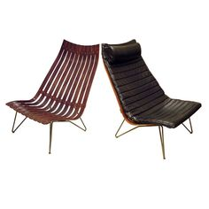 good design - hans brattrud lounge chairs