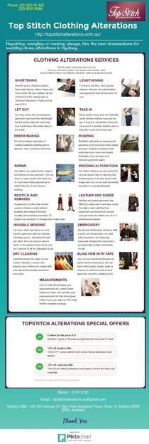 Impeccable Wedding Dress Alterations in Sydney! | Piktochart Infographic Editor
