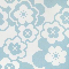 #Bisazza #Decori 2x2 cm Garden Blue | #Porcelain stoneware | on #bathroom39.com at 464 Euro/box | #mosaic #bathroom #kitchen