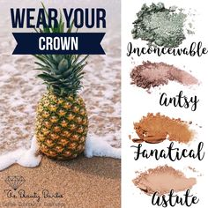 Stand tall! Wear your crown lol Younique pressed shadows are all the rage right now