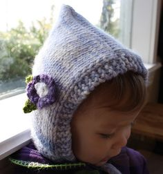 It's done! Here's the hat for the beginner KAL over at DSD. And the pattern is as follows: Blue Bonnet Yarn: Malabrigo Chunky (bulky wei...