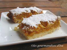 Les gourmandises d'Isa: BARRES AUX ABRICOTS