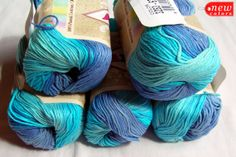 Cotton Baby Yarn It's a boy. Light Weight Alize by HandyFamily, €3.80