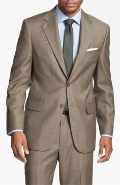 Joseph Abboud 'Signature Silver' Wool Suit available at #Nordstrom