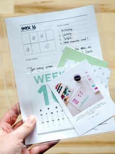 Nina is a Paper Nerd: How I am doing Project Life in 2015 + Free Page Planner Printable