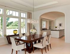 Dining Room Cherry Dining Table White Futon Dining Chair Flower Vase Roses Buffet Table Pendant Desk Lamp Green Plant Glass Window Kitchen Bar Faucet Painting Dining Room versus No Dining Room: Which one is better?