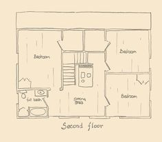 I really like this floor plan with living, dining, and kitchen ...