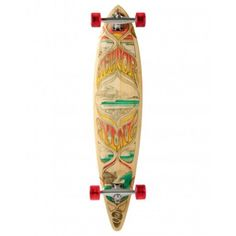 Pintail longboard perfect for carving.