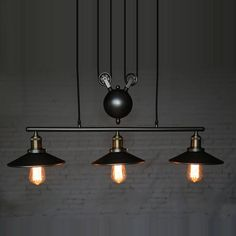 Fresh Adjustable Pendant Light Pulley