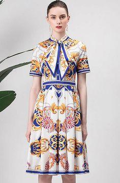Dress Suits, Dress Up, Baroque Dress, African Dress, Pattern Fashion, Designer Dresses, Ideias Fashion, Casual Dresses, Creations
