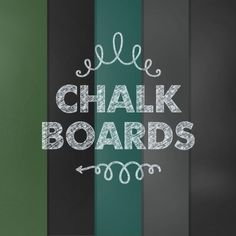 On the Creative Market Blog - Design Your Perfect Wedding Invitations : Chalkboard