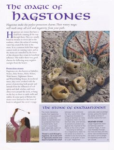 Crystals & Stones: The Magic of #Hagstones.                                                                                                                                                                                 More