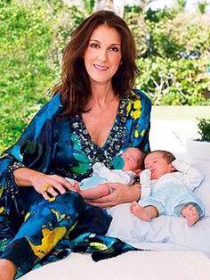 Celine Dion's Twin Babies