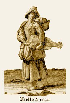 Joueur de vielle à roue