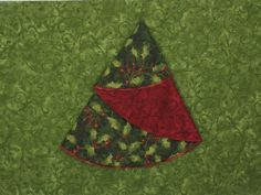 Nancy Zieman Circle Serger Christmas Tree Napkins