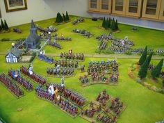 7 Years War battle in progress. Game Terrain, Seven Years' War, Clash Of Clans, Battle, Miniatures, Games, Gaming, Minis, Plays