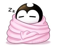 Blanket Burrito by SkullxCake Cute Animal Drawings Kawaii, Cute Drawings, Blanket Burrito, Bendy Y Boris, Demon Baby, Alice Angel, Deal With The Devil, Cute Art Styles, Bendy And The Ink Machine