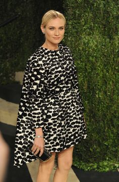 Diane Kruger Is Officially Bringing Back the Cape Dress