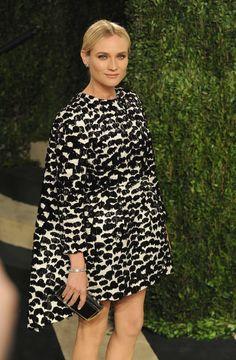 Diane Kruger Is Officially Bringing Back the Cape Dress