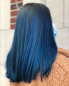 Cecilia has done it again! She applied Aveda Vibrants Cobalt over previously lightened ends to give our client this gorgeous blue balayage! Aveda Spa, Aveda Salon, Aveda Hair Color, Salon Services, Body Wraps, Spa Gifts, Manicure And Pedicure, Eyelash Extensions, Cobalt