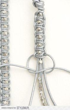 Foto: armband kraal en macrame. Geplaatst door gebeld op Welke.nl