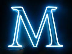 M by Lite Brite Neon, via Flickr