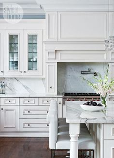 Kitchen. Beautiful Kitchen Design. #KitchenDesignIdeas
