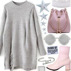 Casual chic: Walk in the city by pastelneon on Polyvore featuring Chilewich and vintage